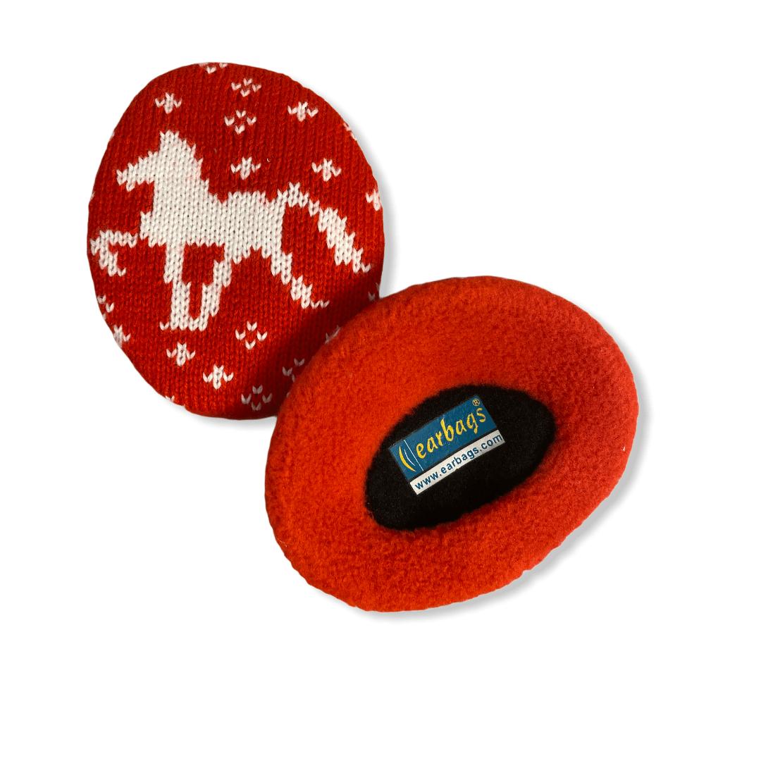 Earbag Röd häst